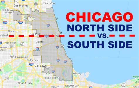 differences   north side  south side  chicago