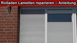 Rolladen Lamellen Maße : rolladen lamellen reparieren anleitung aussen jalousien lamellen austauschen wechseln ~ A.2002-acura-tl-radio.info Haus und Dekorationen