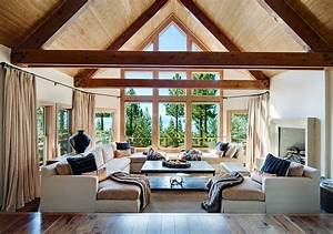20 lavish living room designs with vaulted ceilings With interior decorators colorado springs