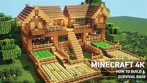 Blueprints, Cool, Minecraft, Survival, Houses, Tutorial