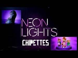 NEON LIGHT demi lovato chipettes