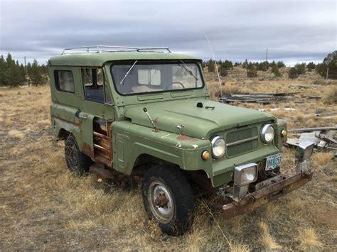1967 nissan patrol parts 1967 nissan patrol for sale in prineville oregon