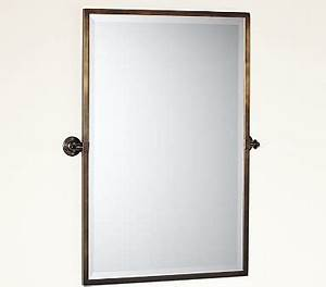 kensington pivot mirror extra large rectangle antique With antique bronze bathroom mirrors