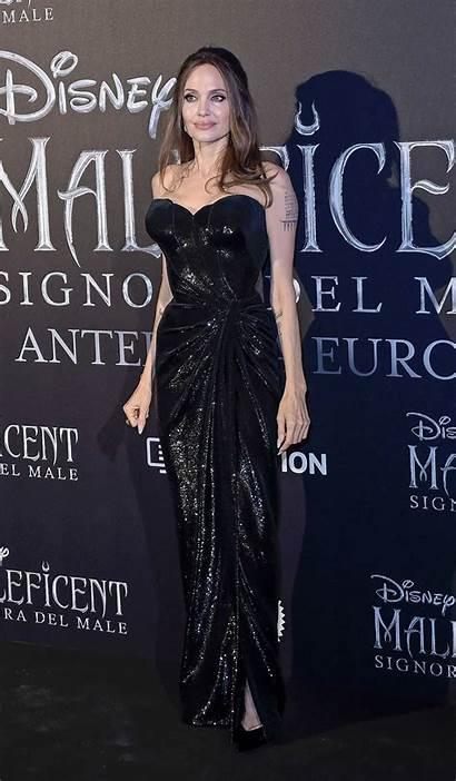 Angelina Jolie Maleficent Premiere Mistress Evil Rome