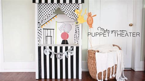 diy puppet theater youtube