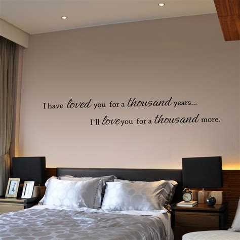 Quotes For Bedroom Wall by Bedroom Quotes Quotesgram