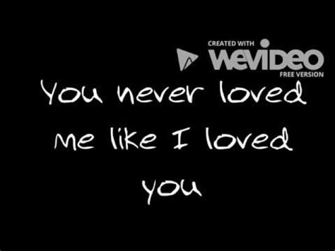 Brett Young  Like I Loved You (lyrics) Youtube