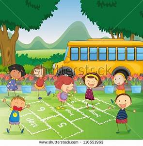 School cartoons Stock Photos, Images, & Pictures ...