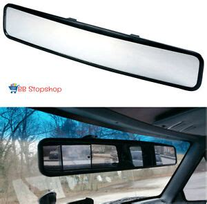Rear View Mirror Blind Spot no blind spot rear view mirror clip on wide angle