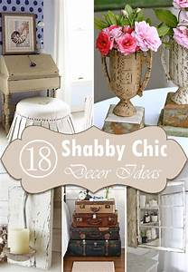 Shabby Chic Diy : 18 diy shabby chic home decorating ideas on a budget ~ Frokenaadalensverden.com Haus und Dekorationen
