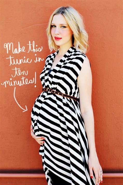 Maternity DIY Make A Tunic u2013 A Beautiful Mess