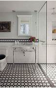 Bathrooms With Black And White Tile by 37 Black And White Hexagon Bathroom Floor Tile Ideas And Pictures