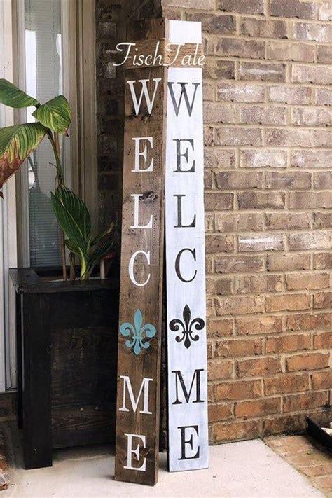 Large Welcome Sign with Fleur De Lis - Fleur De Lis ...