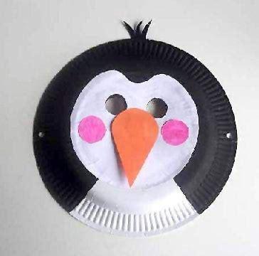 idee  maschere  carnevale  piatti  carta