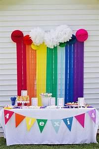 Más de 25 ideas increíbles sobre Cumpleaños de arco iris en Pinterest
