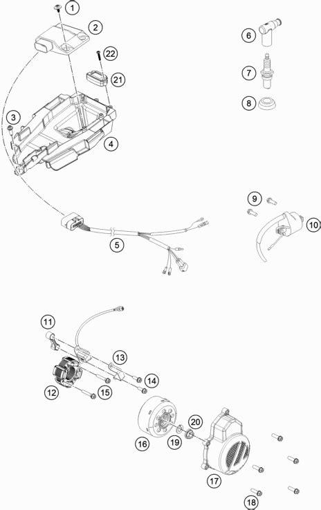 Ktm Sx 85 Wiring Diagram by Ktm Newcastle 85 Sx 17 14 2018 Ignition System