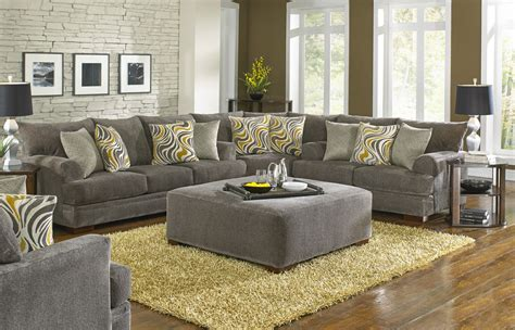 Loveseat Sectional Sofa by Jackson Crompton Sofa Sectional Sofa Set Pewter Jf 4462