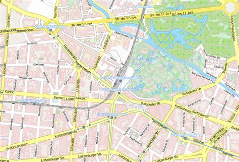 Berlin Zoologischer Garten Bahnhof Plan by Bahnhof Zoo Stadtplan Mit Satellitenfoto Und Hotels Berlin