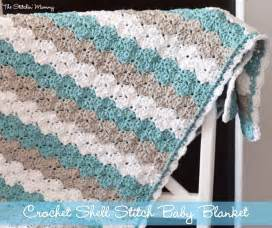 Sea Turtle Rug by Shell Stitch Baby Blanket Free Pattern