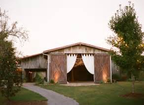 virginia wedding venues the barn at high point farms flintstone ga rustic
