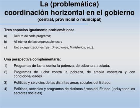 repetto si鑒e social el reto de la integralidad y la coordinación de las políticas sociale