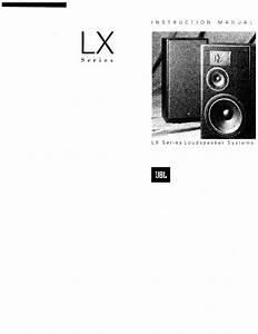 Jbl Speaker System Lx User Guide