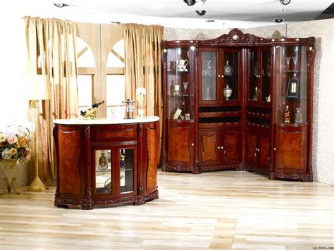 furniture perfect style  corner bar cabinet