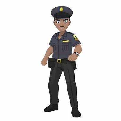 Policeman Police Officer Trainer Class Community