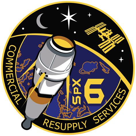 NASA Insignia for the CRS-8 : spacex
