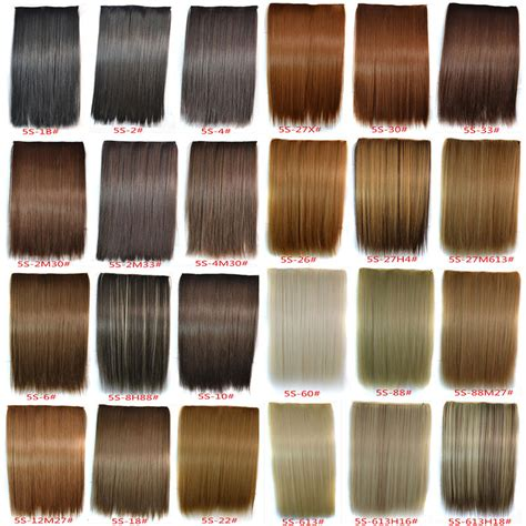 Hair Color Name And Picture by 30colors 120g 24inch 60cm High Temperature 5