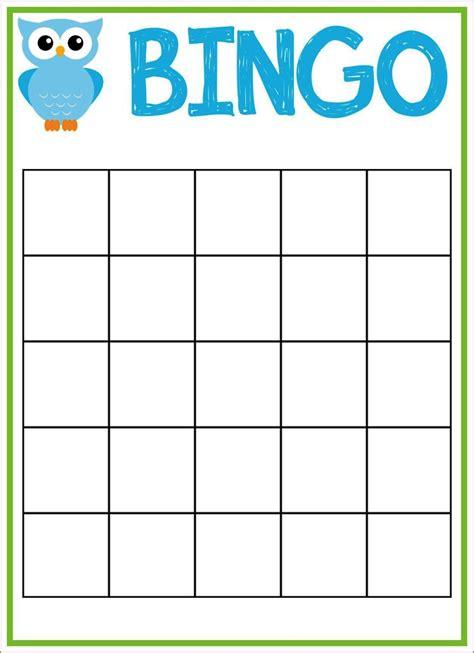 Bingo Template Bingo Sheet Template Sletemplatess Sletemplatess