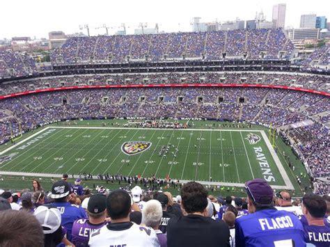 baltimore ravens seating chart mt bank stadium