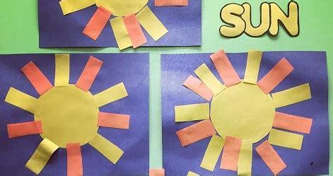 Sun Craft for Kids - Preschool and KindergartenPreschool ...
