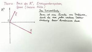Lineare Hülle Berechnen : kap2 theorie 2 basis des ir n lineare h lle erzeugendensystem naturwissenschaften und ~ Themetempest.com Abrechnung