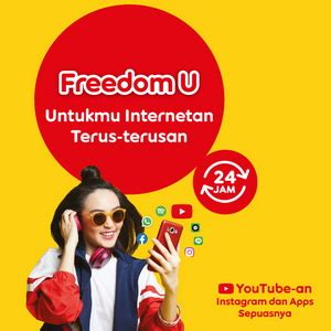 Dan jawaban masih sama ( update 1 ). Kuota Indosat Freedom U - 15 GB + Unlimited