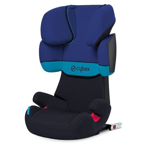 Cybex Auto Kindersitz Solution X Fix Silver Line Blue