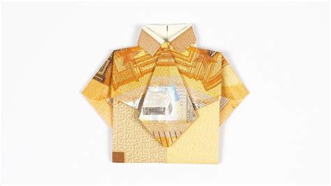 hemd mit krawatte aus geldschein falten geldgeschenk