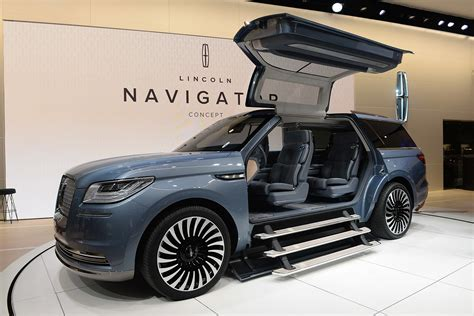 New York Auto Shows 2018 Cars Lincoln Navigator Concept