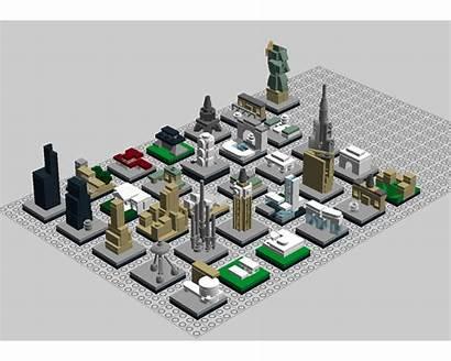 Moc Lego Architecture Rebrickable