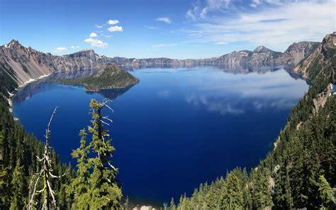 crater lake national park oregon desktop hd wallpaper