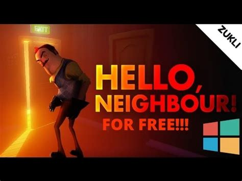 how to hello neighbor for free on windows 7 8 10