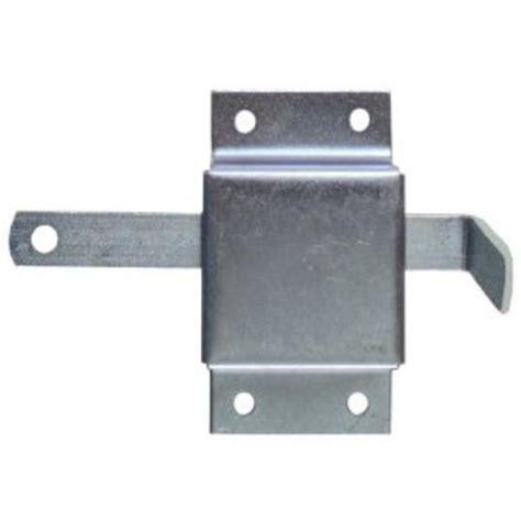 Part Q Garage Doors by Ideal Door 174 Sliding Interior Side Lock For Overhead Garage