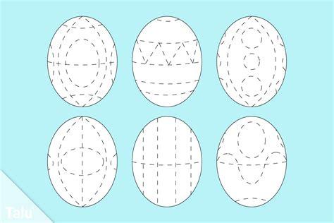 ostereier bemalen vorlagen sorbische ostereier diy anleitung eier mit wachs verzieren talu de