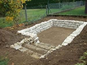 Fundament Für Mauer : zeigt ihr mir eure trockenmauern page 2 mein sch ner ~ Whattoseeinmadrid.com Haus und Dekorationen
