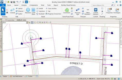 sewergems and sewercad advance simulation and reporting for sewer utilities pocket news alert
