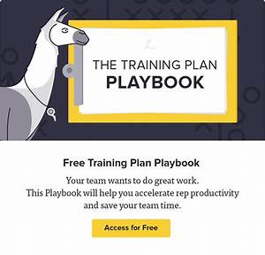 free new employee training plan template by lessonly team With team training plan template