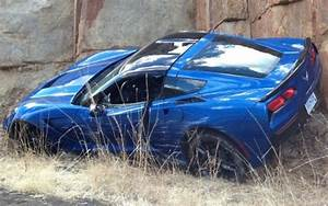 2014 Chevrolet Corvette Stingray Coupe found crashed in