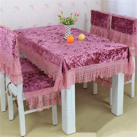 dinner table chair covers rustic fabric lace table cloth chair covers set tablecloth