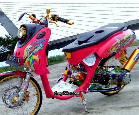 Modifikasi Mio Thailook by 42 Foto Gambar Modifikasi Fino Thailook Style Simple