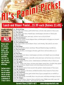 wedding cards al 39 s at your service panini perfection at al s karwick